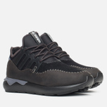 Кроссовки adidas Originals Tubular Moc Runner Core Black/Night Brown фото- 1