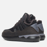 Кроссовки adidas Originals Tubular Moc Runner Core Black/Night Brown фото- 2