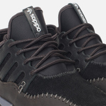 adidas Originals Tubular Moc Runner Core Sneakers Black/Night Brown photo- 5