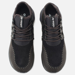 Кроссовки adidas Originals Tubular Moc Runner Core Black/Night Brown фото- 4
