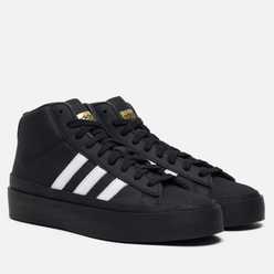 Кроссовки adidas Originals x 424 Pro Model Black/Black/White