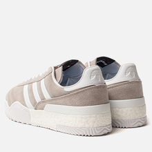 Кроссовки adidas Originals x Alexander Wang Bball Soccer Clear Granite/Clear Granite/Core White фото- 2