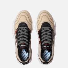 Кроссовки adidas Originals x Alexander Wang Turnout Trainer Core Black/Light Brown/Bright Red фото- 1