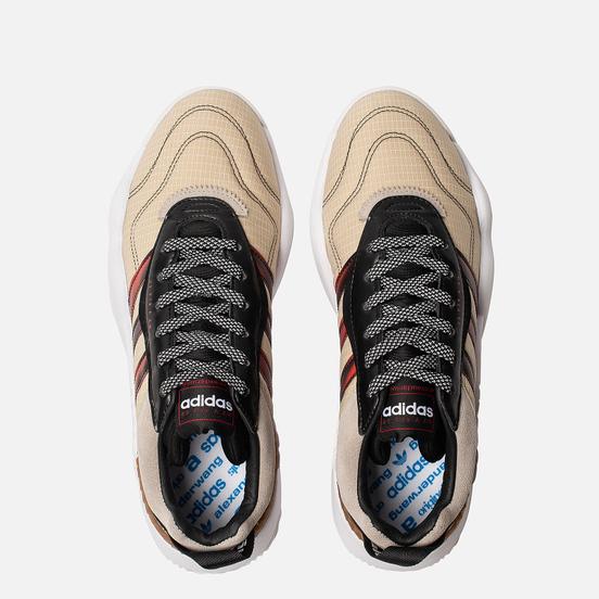 Кроссовки adidas Originals x Alexander Wang Turnout Trainer Core Black/Light Brown/Bright Red