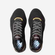 Кроссовки adidas Originals x Alexander Wang Turnout Trainer Core Black/Yellow/Light Brown фото- 1