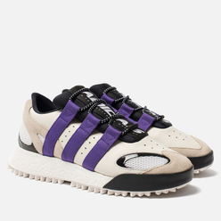 Кроссовки adidas Originals x Alexander Wang Wangbody Run Core White/Sharp Purple/Clear Brown