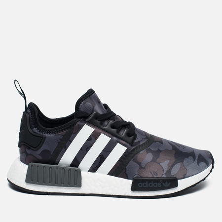 Кроссовки adidas Originals x Bape NMD R1 Camo Pack Black/Grey