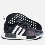 Кроссовки adidas Originals x Bape NMD R1 Camo Pack Black/Grey фото- 1
