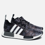 Кроссовки adidas Originals x Bape NMD R1 Camo Pack Black/Grey фото- 2