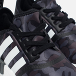 Кроссовки adidas Originals x Bape NMD R1 Camo Pack Black/Grey фото- 3