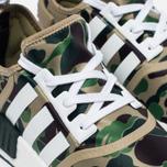 Кроссовки adidas Originals x Bape NMD R1 Camo Pack Olive фото- 3