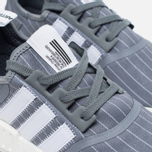 Кроссовки adidas Originals x Bedwin & The Heartbreakers NMD R1 Grey/White фото- 3