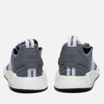 Кроссовки adidas Originals x Bedwin & The Heartbreakers NMD R1 Grey/White фото- 5