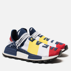 Кроссовки adidas Originals x Billionaire Boys Club HU NMD White/Scarlet/Dark Blue