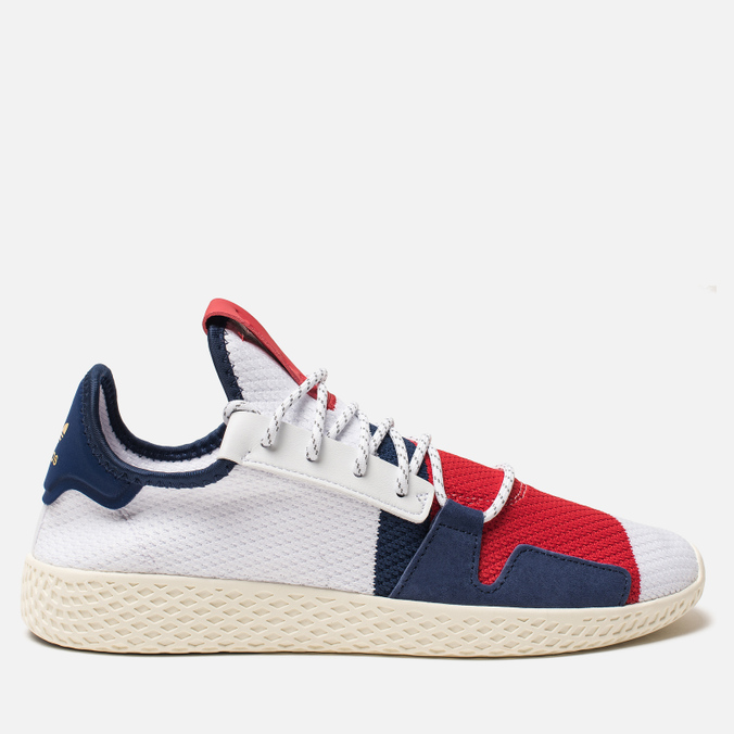 Кроссовки adidas Originals x Billionaire Boys Club HU V2 White/Scarlet/Dark Blue