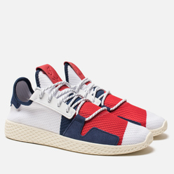 Кроссовки adidas Originals x Billionaire Boys Club HU V2 White/Scarlet/Dark Blue