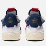 Кроссовки adidas Originals x Billionaire Boys Club HU V2 White/Scarlet/Dark Blue фото- 3