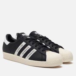 Кроссовки adidas Originals x Human Made Superstar 80s Core Black/White/Off White