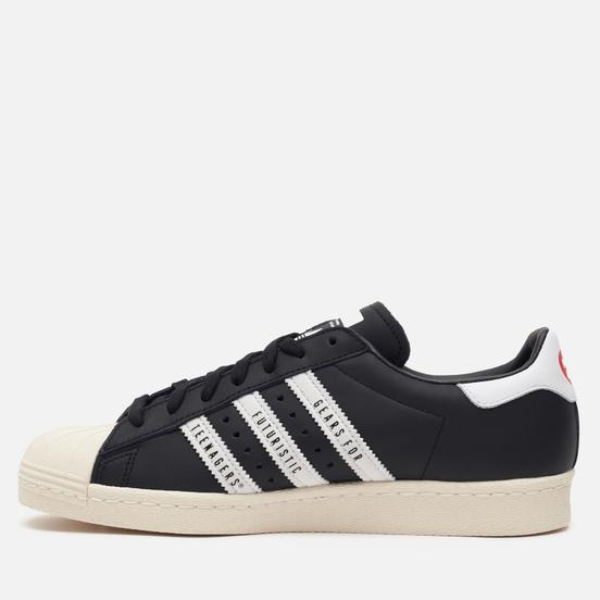 Кроссовки adidas Originals x Human Made Superstar 80s Core Black/White/Off White