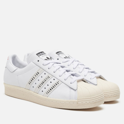 Кроссовки adidas Originals x Human Made Superstar 80s White/Off White/Core Black