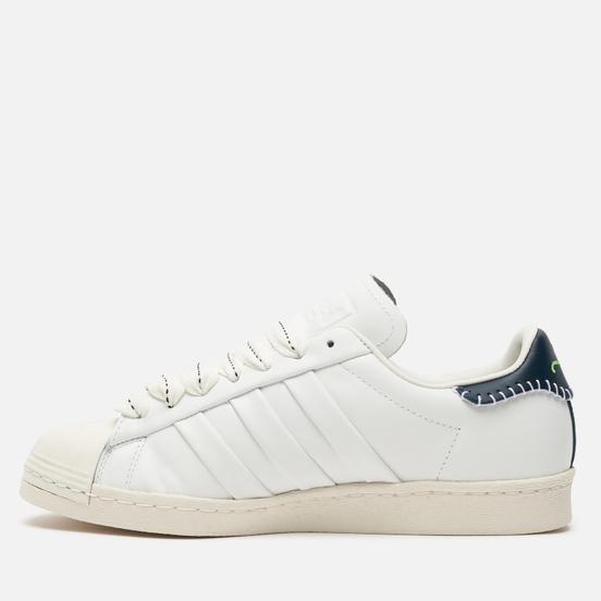 Кроссовки adidas Originals x Jonah Hill Superstar Core White/Green Night/Off White