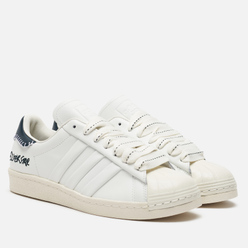 Кроссовки adidas Originals x Jonah Hill Superstar Core White/Green Night/Off White