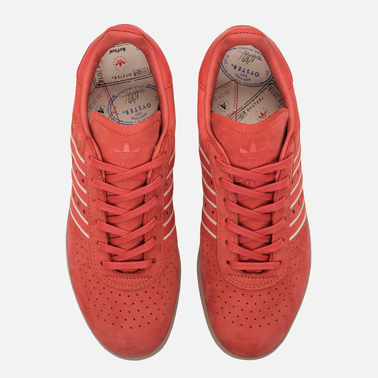Кроссовки adidas Originals x Oyster Holdings 350 Trace Scarlet/Chalk White/Gold Metallic