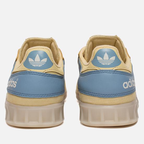 Кроссовки adidas Originals x Oyster Holdings Handball Top Easy Yellow/Ash Blue/Chalk White