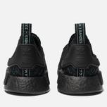 Кроссовки adidas Originals x Parley NMD_R1 Primeknit STLT Core Black/Blue Spirit/EQT Green фото- 5