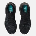 Кроссовки adidas Originals x Parley NMD_R1 Primeknit STLT Core Black/Blue Spirit/EQT Green фото- 4