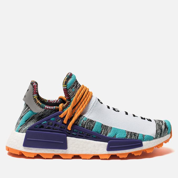 Кроссовки adidas Originals x Pharrell Williams Afro HU NMD Hi-Res Aqua/Collegiate Purple