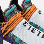 Кроссовки adidas Originals x Pharrell Williams Afro HU NMD Hi-Res Aqua/Collegiate Purple фото- 6