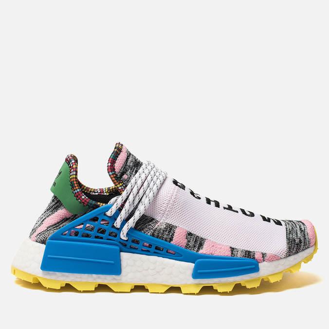 Кроссовки adidas Originals x Pharrell Williams Afro HU NMD Light Pink/Core Black/Bright Blue