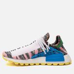 Кроссовки adidas Originals x Pharrell Williams Afro HU NMD Light Pink/Core Black/Bright Blue фото- 1