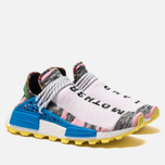 Кроссовки adidas Originals x Pharrell Williams Afro HU NMD Light Pink/Core Black/Bright Blue фото- 2