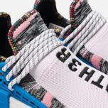 Кроссовки adidas Originals x Pharrell Williams Afro HU NMD Light Pink/Core Black/Bright Blue фото- 6