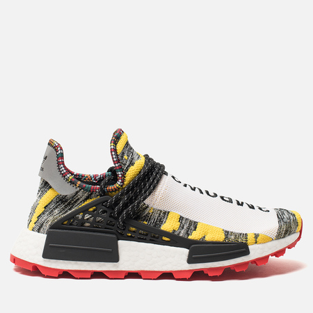 892e0e0c1cd0 Кроссовки adidas Originals x Pharrell Williams Afro HU NMD Yellow Core Black  Red