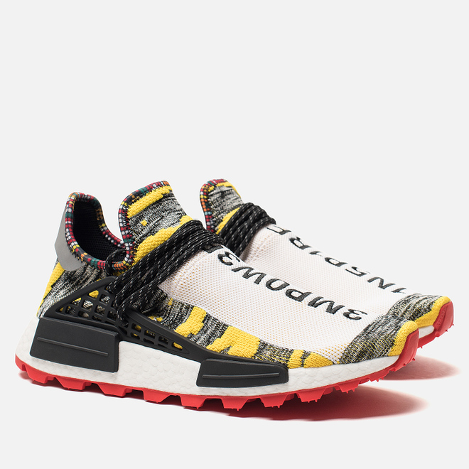 Кроссовки adidas Originals x Pharrell Williams Afro HU NMD Yellow/Core Black/Red