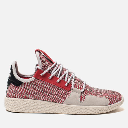 Кроссовки adidas Originals x Pharrell Williams Afro Tennis HU V2 Scarlet/White/Core Black