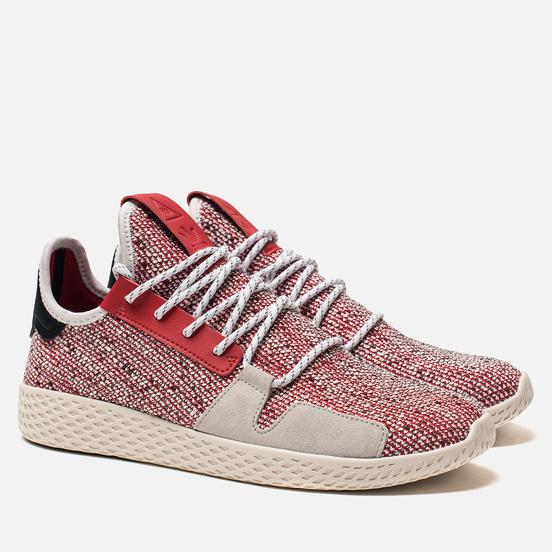 Кроссовки adidas Originals x Pharrell Williams Afro Tennis HU V2 Scarlet/White/Core Black