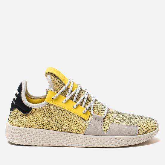 Кроссовки adidas Originals x Pharrell Williams Afro Tennis HU V2 Yellow/White/Chalk White