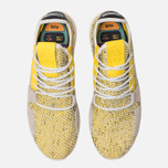 Кроссовки adidas Originals x Pharrell Williams Afro Tennis HU V2 Yellow/White/Chalk White фото- 4