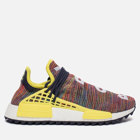 Кроссовки adidas Originals x Pharrell Williams Human Race NMD Trail Noble Ink/Bright Yellow/White