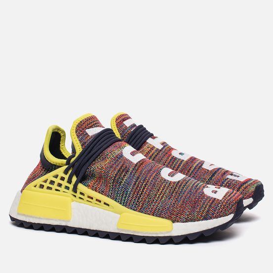 Кроссовки adidas Originals x Pharrell Williams Human Race NMD Trail Noble Ink/Bright Yellow/White