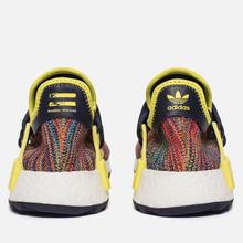 Кроссовки adidas Originals x Pharrell Williams Human Race NMD Trail Noble Ink/Bright Yellow/White фото- 2