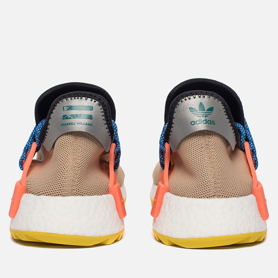 Кроссовки adidas Originals x Pharrell Williams Human Race NMD Trail Pale Nude/Core Black/Yellow