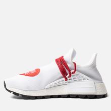 Кроссовки adidas Originals x Pharrell Williams x Human Made NMD HU White/Scarlet/Core Black фото- 1