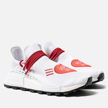 Кроссовки adidas Originals x Pharrell Williams x Human Made NMD HU White/Scarlet/Core Black фото- 2