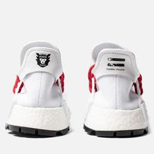 Кроссовки adidas Originals x Pharrell Williams x Human Made NMD HU White/Scarlet/Core Black фото- 3