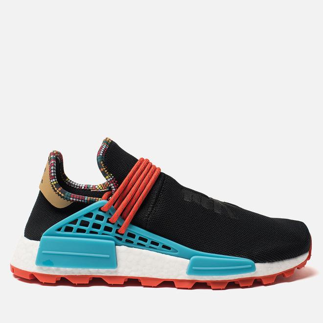 Кроссовки adidas Originals x Pharrell Williams Solar HU NMD Core Black/Clear Blue/Collegiate Orange